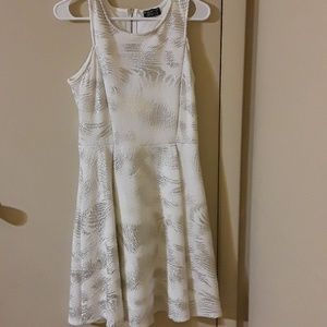 Papermoon cream and gold dress size large